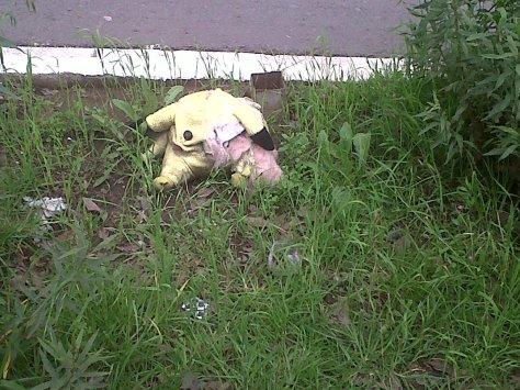 Pikachu muerto
