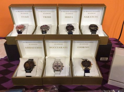 JoJo's Bizarre Adventure watches